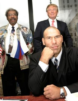 Donald Trump, Valuev, King