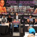 Abril Bogere & Russell Gusev Final Press Conference Quotes