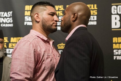 Arreola vs. Mitchell Chris Arreola Seth Mitchell Boxing News Top Stories Boxing