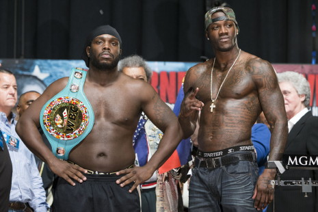 Stiverne with 20lb weight advantage over Deontay Wilder
