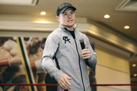 """TOE TO TOE: Canelo vs. Angulo"" Fighter Workout Quotes & Photo From MGM Grand"