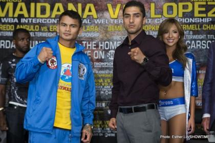 Maidana and Lopez