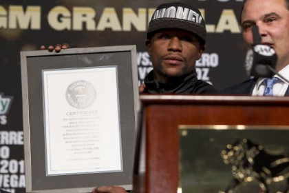 Mayweather vs De la Hoya Guinness Record