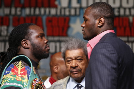 Deontay Wilder: The fans can't fight for you, Stiverne