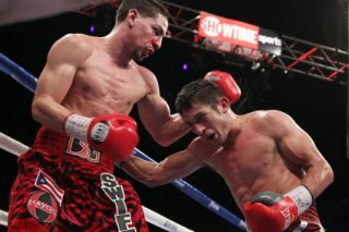 Garcia vs. Herrera - (Photo credit: Tom Casino/Showtime) BAYAMON, Puerto Rico (March 16, 2014) - Unified Super Lightweight World Champion