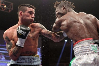 Lucas Matthysse Matthysse vs. Ajose Matthysse-Ajose Olusegun Ajose Boxing News Boxing Results Top Stories Boxing