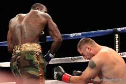 Deontay Wilder, Sergei Liakhovich - Undefeated Deontay Wilder says two prayers in his dressing room before a fight. One is a team prayer. The other, he says, is for his opponent.
