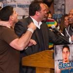 Garcia and Judah argue