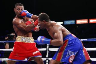 Brook vs. Porter - (Photo credit: Esther Lin/Showtime) Newly crowned IBF welterweight champion Shawn Porter (33-0, 22 KOs) won't be facing Amir Khan or any of the other big names in the 147 pound division in his first defense in November or December, because his promoter Eddie Hearn from Matchroom Sport wants to save the big fights until 2015 for some reason.