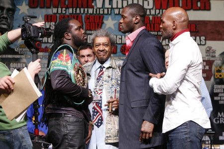 Bermane Stiverne Deontay Wilder Tyson Fury Boxing News