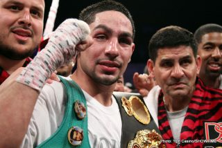 Danny Garcia - In a recent interview with Fighthype, Danny Garcia made it clear that Lamont Peterson would not beat him in their bout scheduled for April 11th 2015. In the interview Garcia pointed to Petersons two losses in the past at the hands of Lucas Matthysse and Timothy Bradley as big indicators as to what was going to happen. Garcia also mentioned the fact that he was undefeated and had never even be knocked down in his twenty-nine fight pro career.
