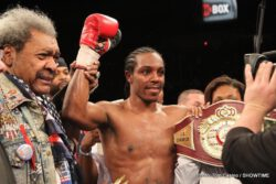 Hank Lundy -  Hank Lundy may now finally get his shot at a world title.