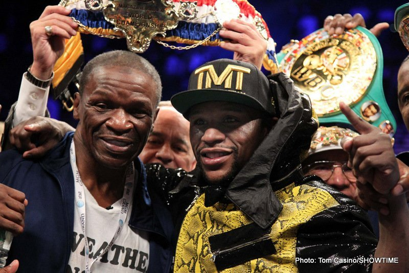 Floyd Mayweather Sr – 'There is no way in the world Pacquiao can whoop Floyd'