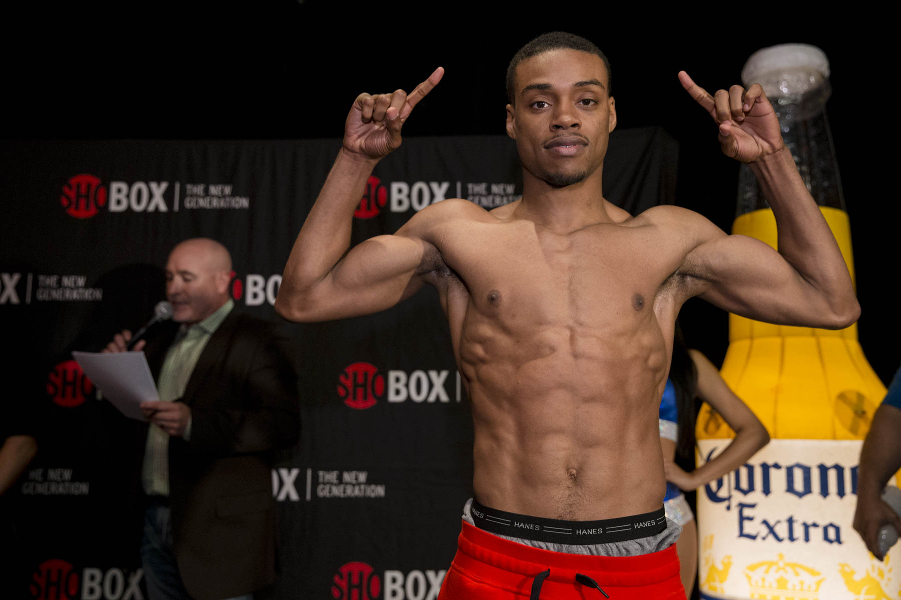Errol Spence's trainer Derrick James says his fighter would KO Golovkin, Brook too