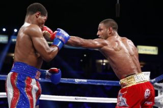 """Brook vs. Porter - (Photo credit: Esther Lin/Showtime) CARSON, Calif. (Aug. 16, 2014) - Turns out, it was Showtime ... for """"The Special One,"""" Kell Brook."""