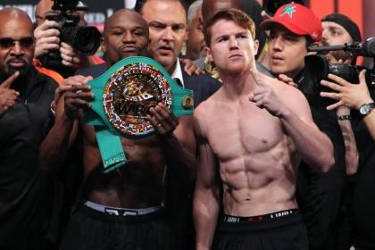 "Canelo Alvarez Floyd Mayweather Jr Money Mayweather Saul ""Canelo"" Alvarez Boxing News Top Stories Boxing"