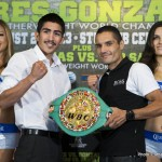 Leo Santa Cruz and Victor Terrazas
