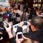 Zab Judah addresses media