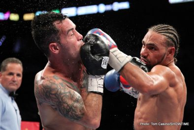Andre Berto Berto vs. Soto-Karass Diego Chaves Jesus Soto Karass Keith Thurman Thurman vs. Chaves Boxing News Boxing Results