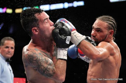 Andre Berto, Berto vs. Soto-Karass, Diego Chaves, Jesus Soto Karass, Keith Thurman, Thurman vs. Chaves - Boxing News
