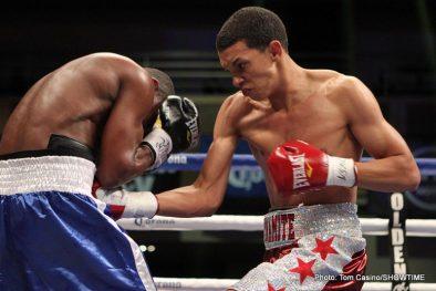 Richard Abril Sharif Bogere Boxing Results