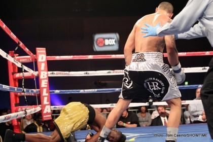 Frank Galarza Ivan Redkach Boxing News Boxing Results
