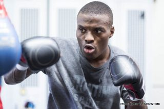 Peter Quillin - After his hard fought draw with Andy Lee back in April, in which the champion kept the WBO middleweight title, and he voided his right to win it on the scales, New York's Peter Quillin (30-0-1, 22ko) returns to the ring in a routine, 10 round, 163 lb catch weight affair against Australian unknown Michael Zerafa (17-1, 9ko) on Saturday night.
