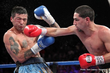 Danny Garcia Garcia vs. Matthysse Lucas Matthysse Boxing News Boxing Results Top Stories Boxing