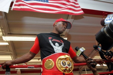 Bernard Hopkins Philadelphia Media Workout Quotes / Videos
