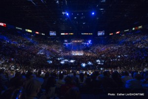 Mayweather vs Guerrero Crowd