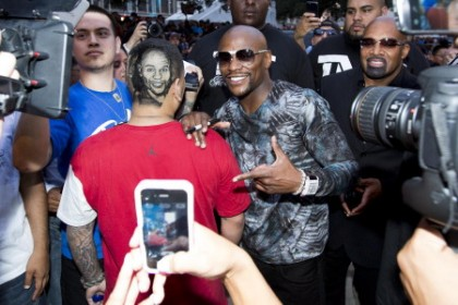 "Floyd Mayweather Jr Mayweather vs. Canelo Saul ""Canelo"" Alvarez Boxing News Top Stories Boxing"