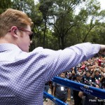 Canelo and Crowd