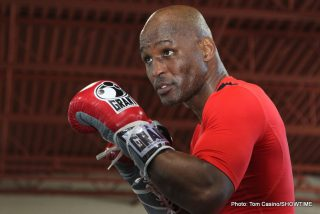 """Bernard Hopkins - Bernard Hopkins is a living legend and he has been upsetting odds, and much younger fighters, for a long time now. In fact, Hopkins is one of those fighters who seems to have been around forever. Hopkins, however, is not like any other fighter today, or of the last 30, maybe even 40 or more years. A true phenomenon who has made """"age means nothing to me"""" his rallying cry for so long now, B-Hop, or """"The Alien,"""" or whatever you want to call the 49-year-old all time great, has outlined for Ring Magazine's web site his plans for this year and next year."""