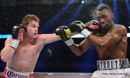 Alvarez vs. Trout Austin Trout Canelo vs. Trout Saul Alvarez Boxing Results