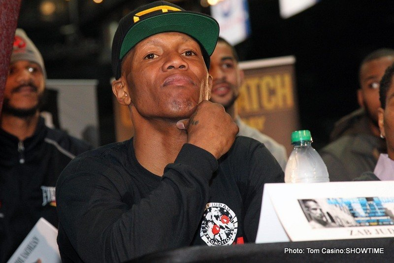 Zab Judah: still (getting into) crazy after all these years!