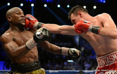 """Floyd Mayweather Jr, Mayweather vs. Guerrero, Robert Guerrero -  So much for Floyd Mayweather Junior slowing down even a little due to age/inactivity/jail time. """"Money May"""" may be 36-years-old now and he may have fought just four times in the last three years, but, as he showed last night in totally dominating a tough but outclassed Robert Guerrero, Mayweather is as great as ever. The two months in jail proved to be totally irrelevant, and any suggestions Guerrero or anyone else might have made about Floyd having slowed down a little were blown clean out of the water."""