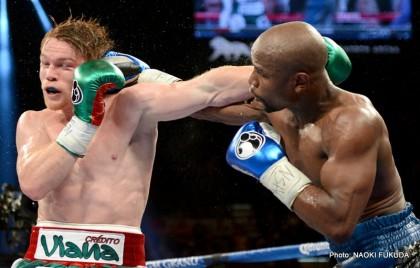 """Floyd Mayweather Jr Garcia vs. Matthysse Mayweather vs. Canelo Saul """"Canelo"""" Alvarez Boxing News"""