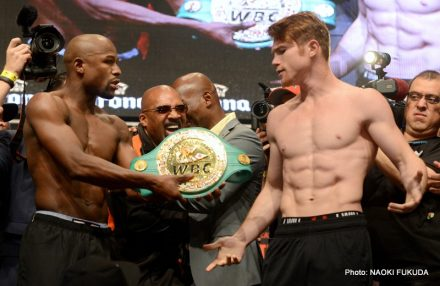 Floyd Mayweather Jr Mayweather vs. Canelo Saul Alvarez Boxing News Top Stories Boxing
