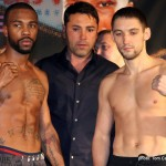 Weigh In & Weights: Abril, Bogere, Russell Jr., Gusev & More