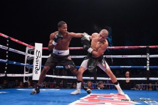 "Felix Verdejo, Ivan Najera, Miguel Marriaga, Nicholas Walters -     NEW YORK (May 12, 2015) -- Undefeated World Boxing Association (WBA) featherweight world champion NICHOLAS ""Axe Man"" WALTERS of Jamaica, and the boxing gem of Puerto Rico, undefeated No. 3 world-rated lightweight contender FELIX ""El Diamante"" VERDEJO will headline, in separate bouts, a world championship card in New York during Puerto Rican Day Parade weekend. With 34 knockout victories between them, fireworks are all but assured for this event which will take place Saturday, June 13, in The Theater at Madison Square Garden.  Both will be facing undefeated opponents.  Walters, who is in the third year of his championship reign, will defend his world title against Top-10 contender MIGUEL ""The Scorpion"" MARRIAGA of Colombia. Verdejo, in his live HBO debut, will make the first defense of his newly-won World Boxing Organization (WBO) Latino lightweight title against IVAN ""Bam Bam"" NAJERA, of San Antonio, TX.  Both fights will be televised live on HBO Boxing After Dark®, beginning at 10:00 p.m. ET/PT."