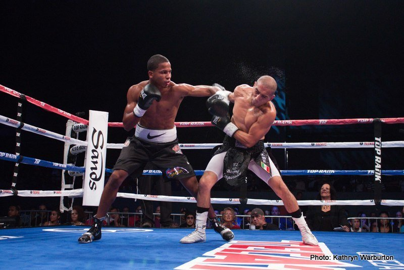 """Miguel Marriaga -     NEW YORK (May 12, 2015) -- Undefeated World Boxing Association (WBA) featherweight world champion NICHOLAS """"Axe Man"""" WALTERS of Jamaica, and the boxing gem of Puerto Rico, undefeated No. 3 world-rated lightweight contender FELIX """"El Diamante"""" VERDEJO will headline, in separate bouts, a world championship card in New York during Puerto Rican Day Parade weekend. With 34 knockout victories between them, fireworks are all but assured for this event which will take place Saturday, June 13, in The Theater at Madison Square Garden.  Both will be facing undefeated opponents.  Walters, who is in the third year of his championship reign, will defend his world title against Top-10 contender MIGUEL """"The Scorpion"""" MARRIAGA of Colombia. Verdejo, in his live HBO debut, will make the first defense of his newly-won World Boxing Organization (WBO) Latino lightweight title against IVAN """"Bam Bam"""" NAJERA, of San Antonio, TX.  Both fights will be televised live on HBO Boxing After Dark®, beginning at 10:00 p.m. ET/PT."""