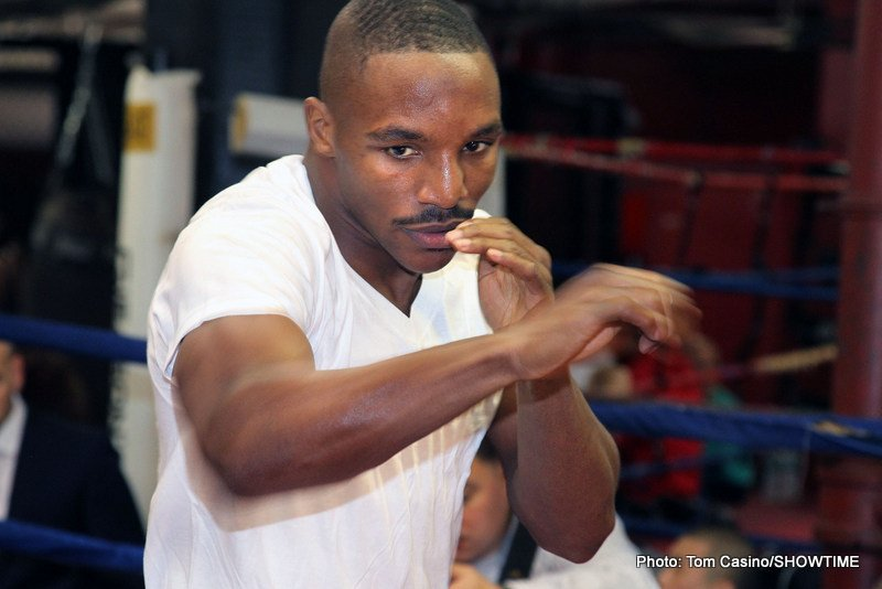 Devon Alexander, Lee Selby - Former two division champ and gay marriage advocate, (only joking!) Devon Alexander (26-3, 14ko), will return to the ring  against 2nd tier Mexican Aaron Martinez (19-4-1, 4ko), on an Oct 14th PBC on ESPN bill that is to also feature new IBF featherweight champion Lee Selby (21-1, 8ko) defending against Mexican veteran Fernando Montiel (54-4-2, 39ko).