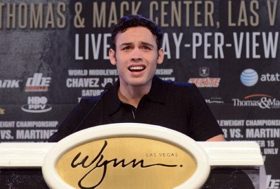 Chavez Jr-Martinez Julio Cesar Chavez Jr. Sergio Martinez Boxing News Top Stories Boxing
