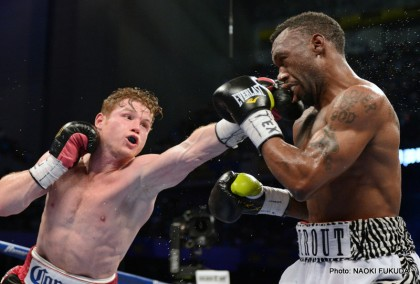 Alvarez vs. Trout Austin Trout Canelo vs. Trout Saul Alvarez Boxing Results Top Stories Boxing