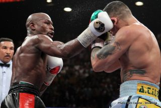 """Mayweather vs. Maidana - For a moment, it seemed like Marcos """"El Chino"""" Maidana could do the unthinkable - hand pound-for-pound champion Floyd """"Money"""" Mayweather the first loss of his brilliant career. Only for a moment."""