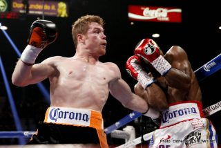 (Photo credit: Esther Lin/Showtime) LAS VEGAS (July 12, 2014) – Canelo Alvarez won a close split-decision victory over Erislandy Lara in the SHOWTIME PPV main event in front a sold-out pro-Canelo crowd at MGM Grand Garden Arena in Las Vegas, Nev.