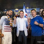 John Molina Julio Diaz Keith Thurman Lucas Mattysse Omar Figueroa Press Room