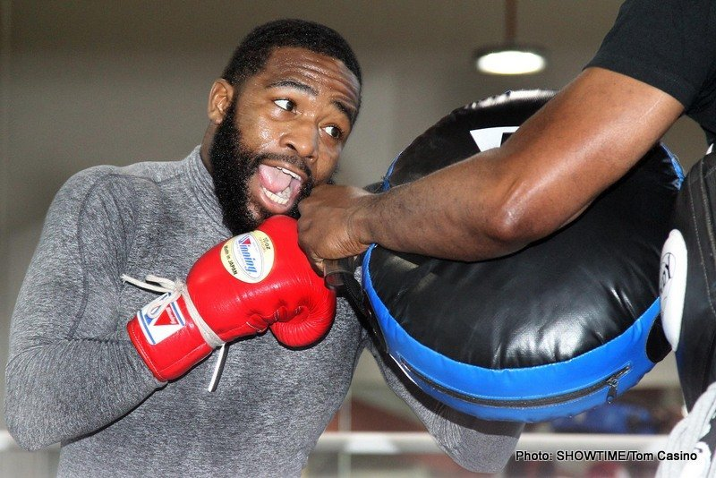 Broner vs. Molina - ADRIEN BRONER, Former Three-Division World Champion