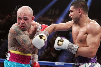 Amir Khan Khan vs. Collazo Luis Collazo Boxing News Boxing Results