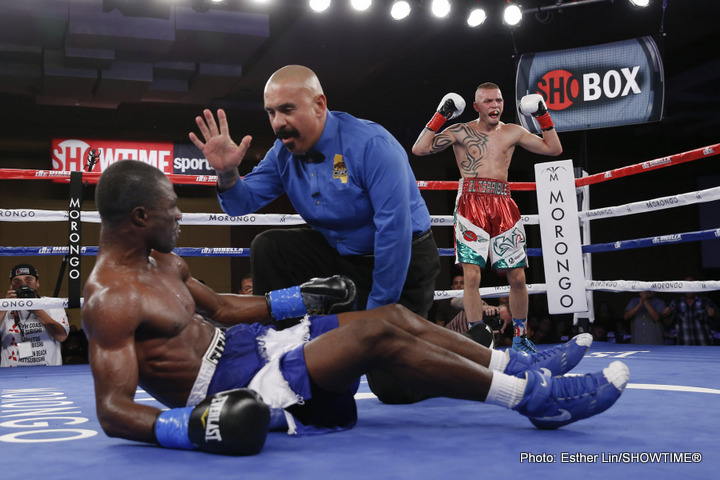 Ivan Redkach Blasts Yakubu Amidu In First ShoBox: The New Generation Of 2015